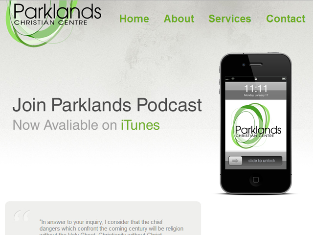 Parklands Website